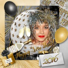 Layout by Sarkavka. Kit used: Funny New Year by Butterfly Dsigns http://scrapbird.com/designers-c-73/a-c-c-73_514/butterflydsign-c-73_514_568/funny-new-year-by-butterflydsign-p-17488.html