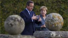 Image copyright                  Getty Images                                                     David Cameron made a late appeal to Germany's Angela Merkel for limits on free movement of people if the UK voted Remain, BBC Newsnight has learned. The then-prime minister called the German leader days before the EU referendum, as opinion polls seemed to show voters moving to the Leave camp. But he later abandoned the idea of getting her an