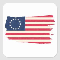 Shop rush-limbaugh betsy ross Flag Square Sticker created by agadir. American Flag Stars, Rush Limbaugh, Christian Shirts, Different Shapes, Independence Day, Custom Stickers, Memorial Day, Tatting, Wrapping