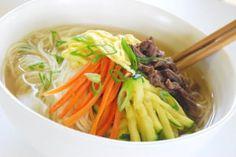 Janchi Guksu (Korean Warm Noodle Soup)