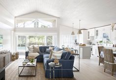 Coastal Cottage with Whitewashed Ceiling (Home Bunch - An Interior Design…