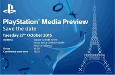Sony houdt PlayStation Media Preview-evenement op 27 oktober