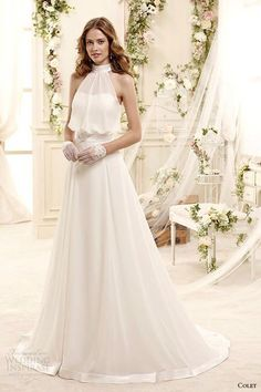 Image via We Heart It https://weheartit.com/entry/168382454 #beautiful #bridal #cute #gowns #lovely #wedding #woman #femenine