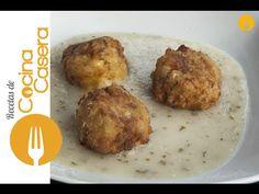 Albóndigas de Bacalao con Salsa Verde | Recetas de Cocina Casera - Recetas fáciles y sencillas