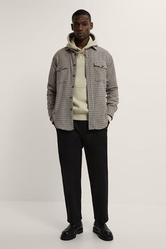 Outfits Hombre, Male Outfits, Men Photography, Workout Shirts, Zara, Hipster, Normcore, Plaid, Mens Fashion