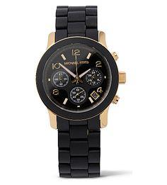 MICHAEL KORS - Runway gold-plated watch | Selfridges.com