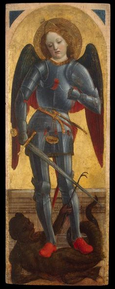 Vincenzo Foppa (1427–1515): San Michele Arcangelo. State Hermitage, Saint Petersburg