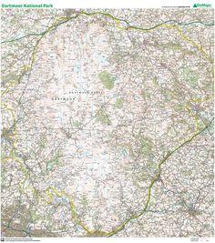 Dartmoor. 1:50 000 | Gomaps