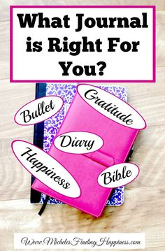 Gratitude journals, happiness journals, Bible journals, bullet journals and ten other types of journals fill your social media pages, but how do you know which one is right for you? Do you need more than one journal?  Can you use … Continue reading →