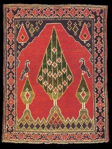 Antique Caucasian Karabagh Prayer rugs (Namazlyg)