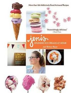 Breakthrough recipes and techniques from the proprietor of the celebrated artisan Ohio ice cream chain. For everyone who has heard of Jeni's Splendid Ice Cream through national press, or has encountered it on restaurant menus and in select grocery stores . The homemade ice cream is smooth and creamy, not icy and crumbly. The recipes are custard f