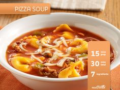 Pizza Soup Recipe for Fall