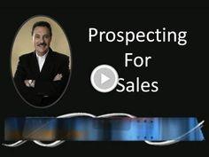 Frank Furness: Prospecting for sales