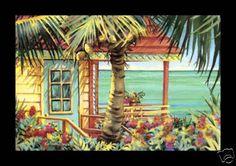 'My Space' Beach Art Framed Print Kathleen Denis   eBay