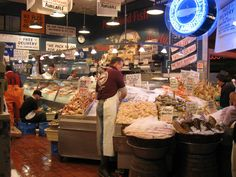 Fish Market Pikes Place Seattle