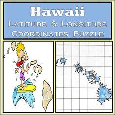 California state latitude longitude coordinates puzzle 44 hawaii state latitude and longitude coordinates puzzle 77 points to plot ccuart Gallery
