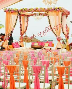Mandap decoration for Hindu weddings Punjabi weddings