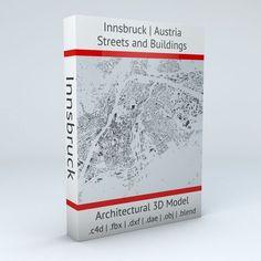 Innsbruck Streets and Buildings | 3D model