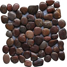 RED BLEND PEBBLES