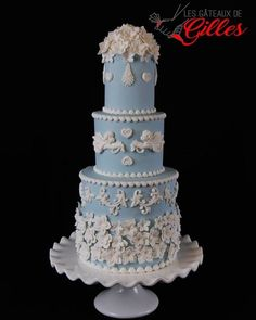 Wedding Cakes - please see this romantic suggestions, pin reference 9222583563 here. Wedding Cake Bakery, Diy Wedding Cake, Creative Wedding Cakes, Amazing Wedding Cakes, Wedding Cake Designs, Wedding Cupcakes, Creative Cakes, Amazing Cakes, Blue Birthday Cakes