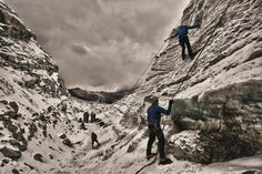 Prácticas en el Glaciar Huayna Potosí