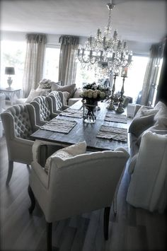 Light Color To Your Dining Design Room