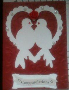 Wedding anniversay or wedding card