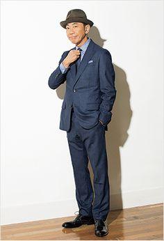 Noritake Kinashi 木梨憲武 Gentleman Style, Sport Coat, Men Dress, Style Me, Menswear, Style Inspiration, Mens Fashion, Aw17, Guys