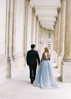 Ethereal Parisian engagement session: Photography : Romance Weddings by Joseba Sandoval Photography Read More on SMP: http://www.stylemepretty.com/destination-weddings/france-weddings/2016/07/19/elegant-engagement-session-in-paris-france/