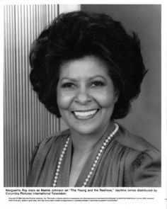 Young and the Restless, Maime, trusted maid for the Abbott family (Olivia Drucilla's Aunt) - 1973-present