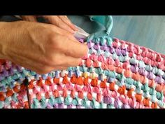 Four Eleven Rox: Increasing on a Toothbrush/Amish Knot Rug