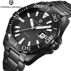 Men's Classic Diving Series Mechanical Waterproof Stainless steel Luxury Watch  #design #me #Fashion #makeup #repost #instagram #girl #photooftheday #Shopping #summer