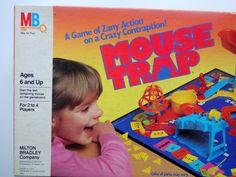 Vintage Milton Bradley Mouse Trap Game 1986 by WylieOwlVintage, $18.00