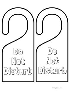 Printable Rounded Doorhanger Free For Pdf Fee For