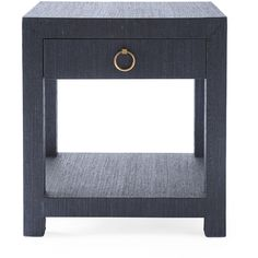Serena & Lily Blake Raffia 1-Drawer Nightstand ($998) ❤ liked on Polyvore featuring home, furniture, storage & shelves, nightstands, lacquer nightstand, 1 drawer nightstand, lacquer furniture, woven furniture and one drawer nightstand