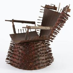 Amazing chair made of Weapons -Mozambique