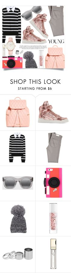 """Glitter Sneakers"" by sonny-m ❤ liked on Polyvore featuring Vera Bradley, Givenchy, Alice + Olivia, AG Adriano Goldschmied, Illesteva, Kate Spade, Guerlain, Betty Jackson, Clarins and CLUSE"