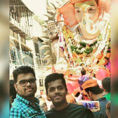 New pin for Ganpati Festival 2015 is created by by vaidyadarshan with Ders always a hope wen he wid us #ganpatibappa #visarjan #latepost