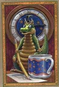 Caffeine Overload art print by Spangler, Randal Dragon Heart, Dragon 2, Magical Creatures, Fantasy Creatures, Fantasy Drawings, Fantasy Art, Witch Pictures, Dragon Tales, Randal