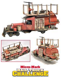 Contest-winning railtruck