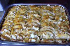 Schneller Apfelkuchen aus Rührteig