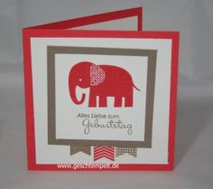 Stampin up Zoo babies In Color