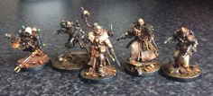 The Pilgrym; Secret war on Terra New miniatures by John Blanche