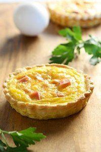 Photo de la recette Mini tartelettes jambon fromage
