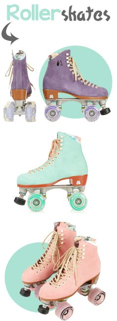 Looking for vintage rollerskates? Here's the best list of the most beautiful vintage rollerskates look a likes and where to buy them! Retro Roller Skates, Quad Roller Skates, Roller Derby Girls, E Quad, Skater Girls, Longboarding, Roller Skating, Looks Cool, Shopping