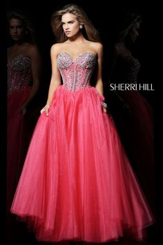 c77a8c4ac6 Sherri Hill - Dresses pink prom dress- sparkly Beautiful Prom Dresses