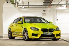 Yellow Submarine van 328 km/h: BMW M6 GC RS800