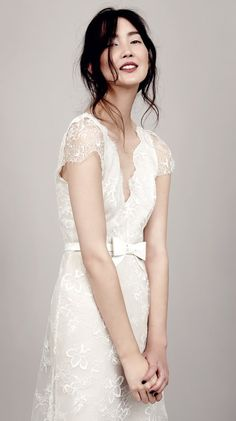 kaviar gauche couture bridal 2015 vivienne s lace wedding dress deluxe close up illusion scalloped cap sleeves -- Kaviar Gauche 2015 Wedding Dresses 2015 Wedding Dresses, Bridal Dresses, Wedding Gowns, Lace Wedding, Post Wedding, Mermaid Wedding, Wedding Blog, Wedding Ceremony, Bridal Collection