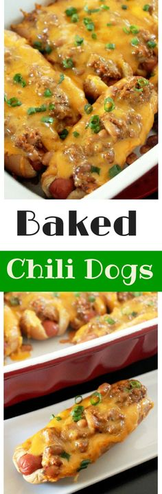 Baked Chili Cheese Dogs-Creole Contessa by kathie
