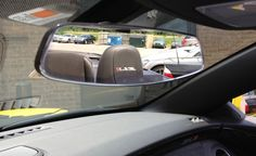 2013 Chevy Camaro ZL1 Convertible Stops By, Shows Off New Retro Rearview Mirror!